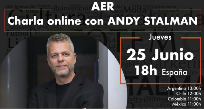 Charla Online con Andy Stalman