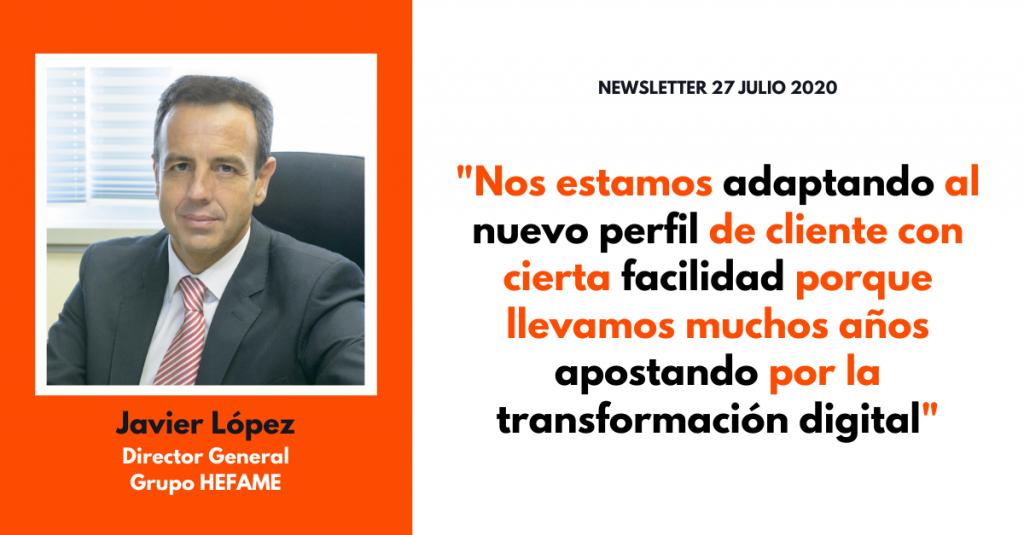 Entrevistando a...Javier López