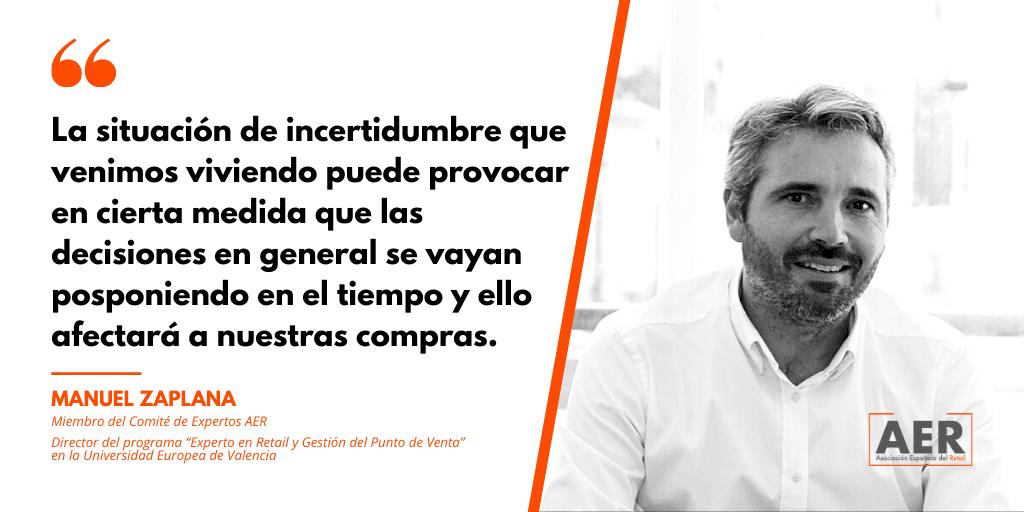 Manuel Zaplana opina sobre la Navidad 2020