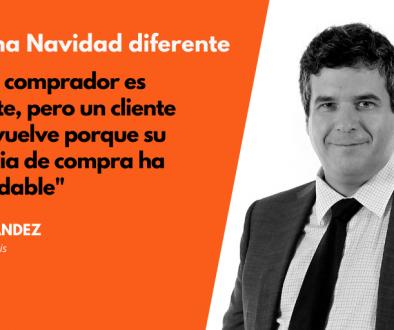 David Hernández opina sobre las Navidades 2020