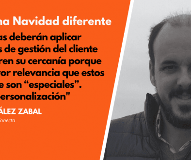 Diego González opina sobre las Navidades 2020