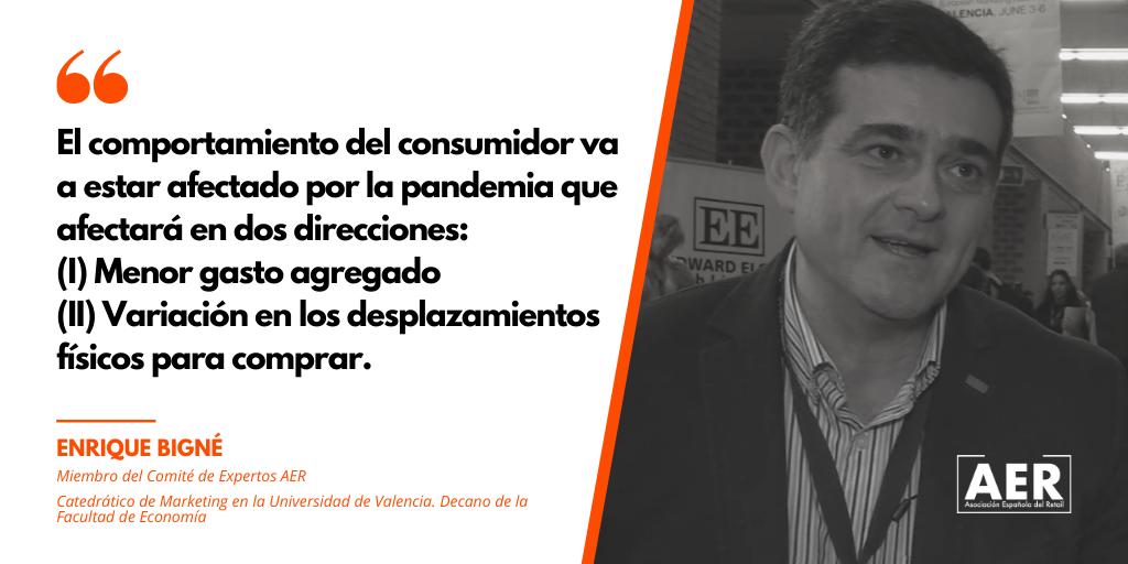 Enrique Bigné opina