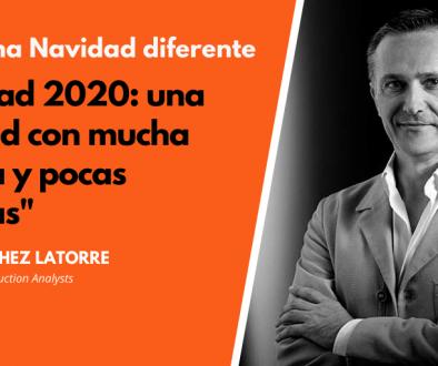 Daniel Sánchez-Latorre opina sobre las Navidades 2020