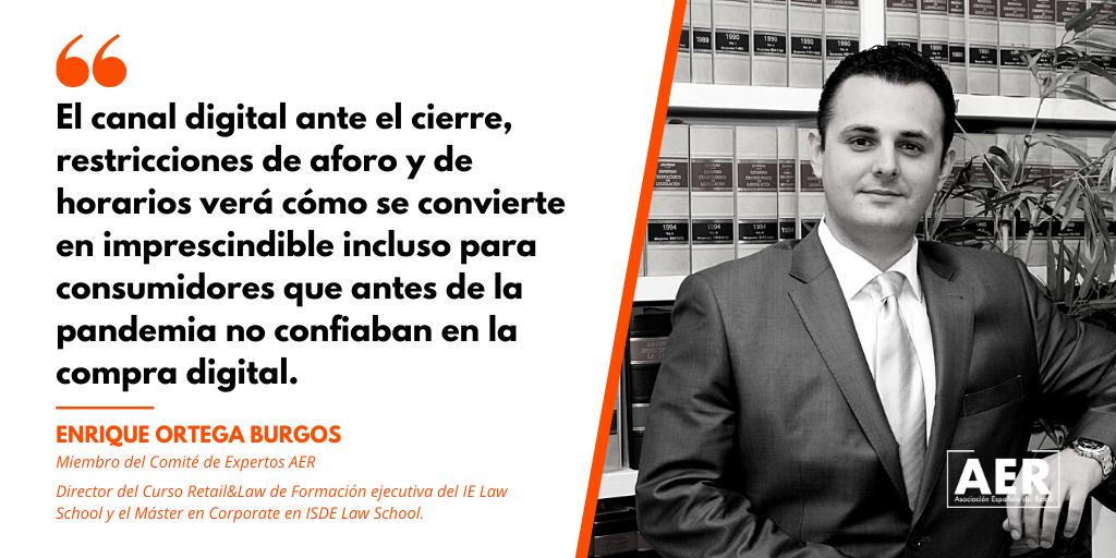 Enrique Ortega Burgos opina
