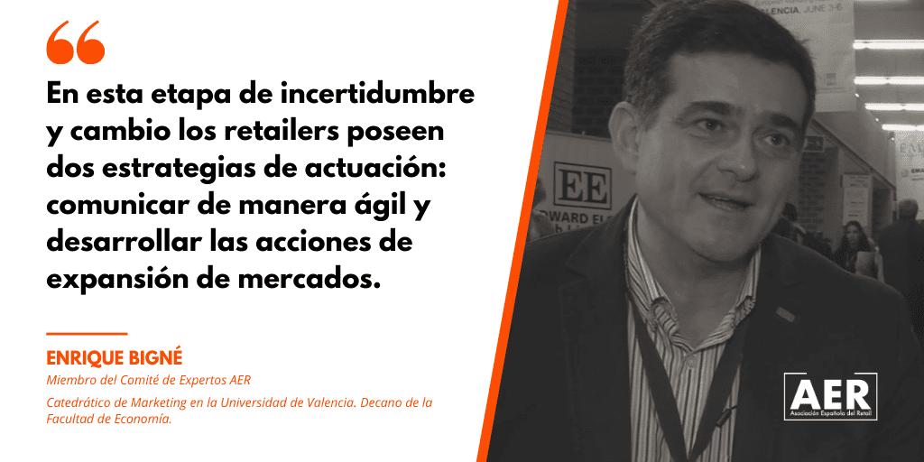 Enrique Bigné aconseja
