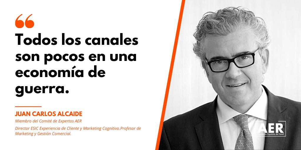 Juan Carlos Alcaide aconseja