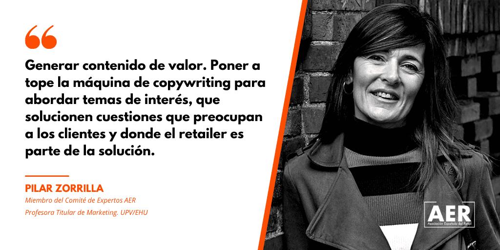 Pilar Zorrilla aconseja