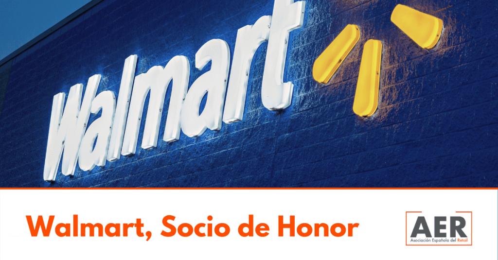 Walmart, nombrado Socio de Honor de la Asociación Española del Retail
