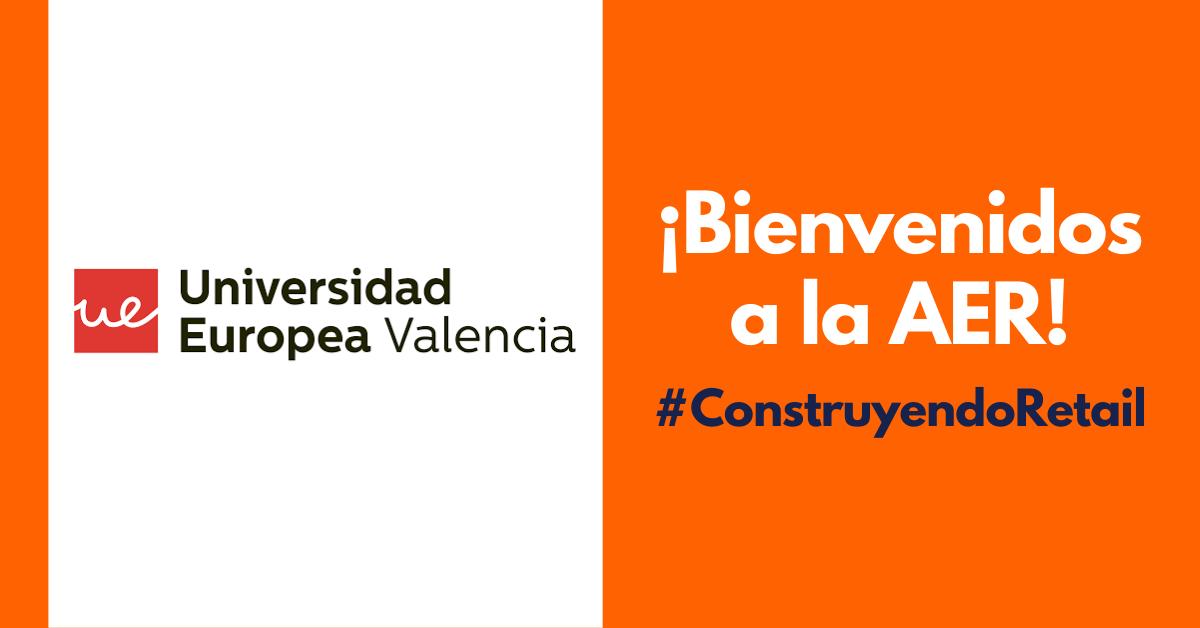 La Universidad Europea de Valencia, nueva entidad académica asociada a la AER